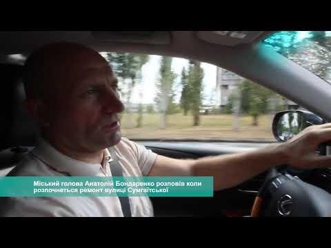 Телеканал АНТЕНА: Міський голова розповів коли розпочнеться ремонт вулиці Сумгаїтської