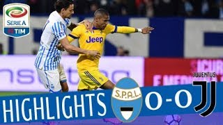 SPAL - Juventus 0-0 - Highlights - Giornata 29 - Serie A TIM 2017/18 streaming