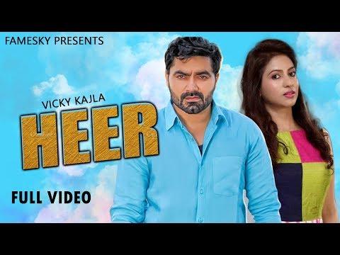 Vicky Kajla Heer- Haryanvi Song 2019  Rb Gujjar , Amanraj Gill  New Haryanvi Songs Haryanavi