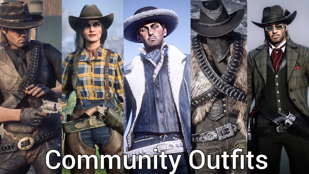 Rdr2 Online Female Outfit Ideas Creations By 2point