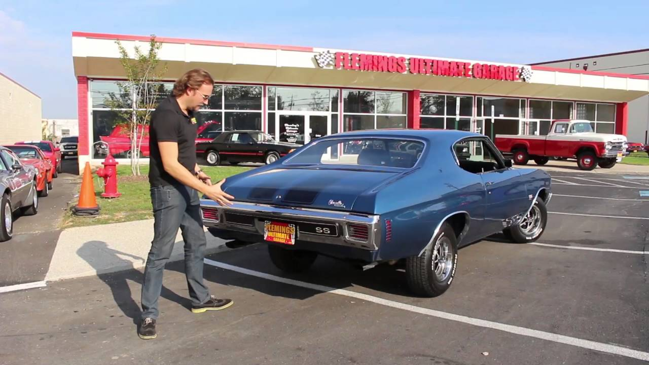 2016 Chevelle Ss >> 1970 Fathom Blue Chevelle SS454 - YouTube
