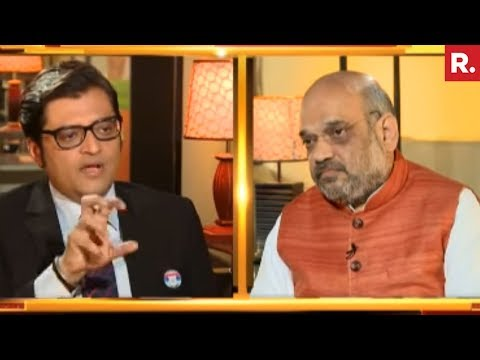 Amit Shah On Nation Wants To Know With Arnab Goswami | Full Interview