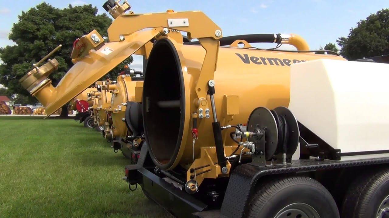 Vermeer Vacuum Excavator Quot Cam Over Quot External Hydraulic