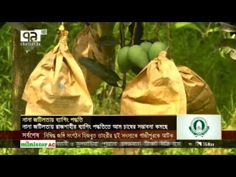 জামা গায়ে দিয়েও আম বিদেশ যেতে পারছে না | News | Ekattor TV