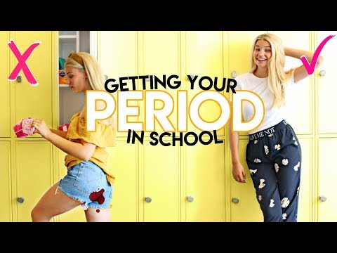 10 PERIOD LIFE HACKS FOR BACK TO SCHOOL! What to do when you get your period at school?!