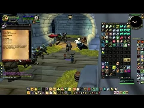 "How to Charter People to Start a Guild in ""WoW"" : World of Warcraft Tutorials"