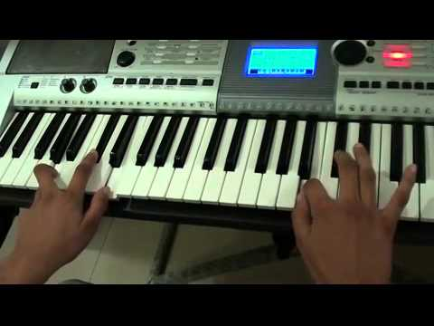 Haale e dil cover piano psr i425 youtube for Yamaha keyboard i425