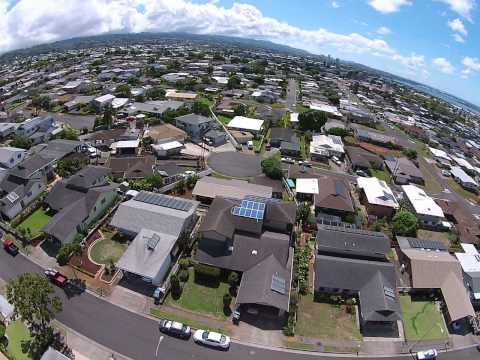 Birds eye view of Pearl City Hawaii