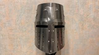 Шлем рыцаря Тамплиера, Helmet Templar Knight, Nautical NA-3638