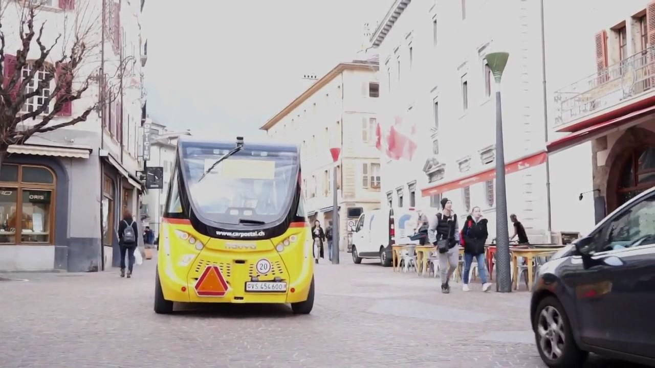 On the Road with an Autonomous Passenger Shuttle
