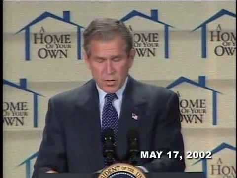 Home Ownership and President Bush