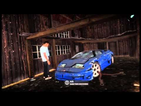Forza Horizon Barn Find 4 Bugatti EB110 SS