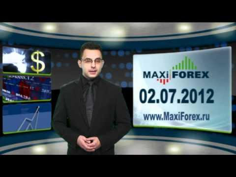 02.07.12 - Прогноз курсов валют. Евро, Доллар, Фунт. MaxiForex