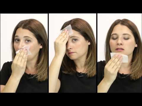How-to: use blotting papers