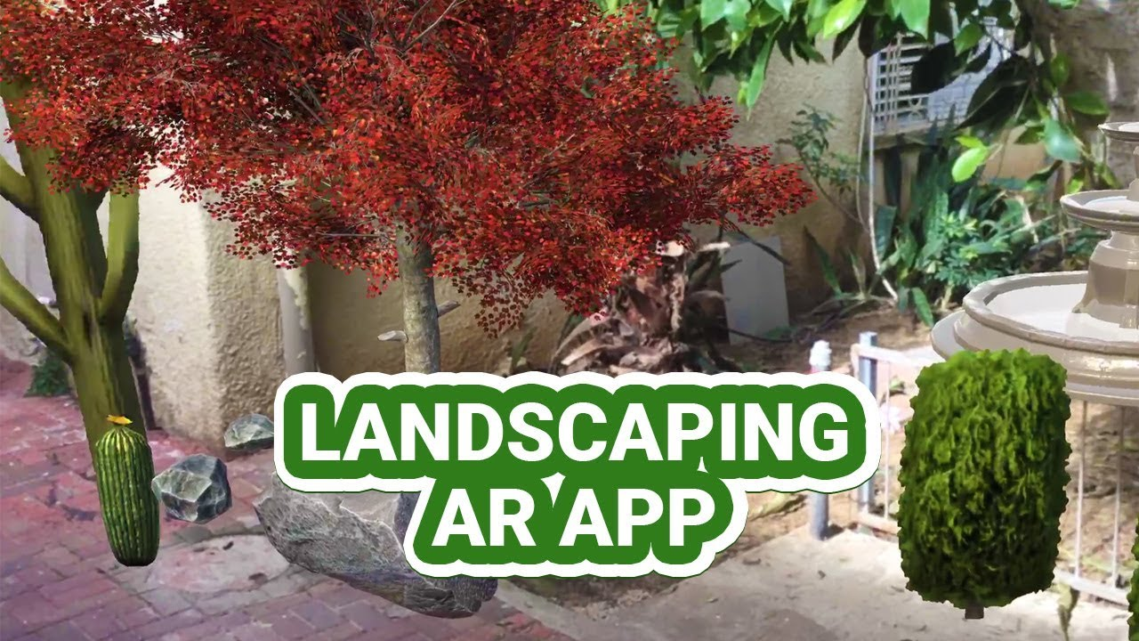 Ar Landscaper Landscaping Design Simulation App Android Ios Youtube