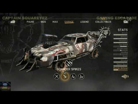 Mad Max - Mad Max & Magnum Opus - Upgrades