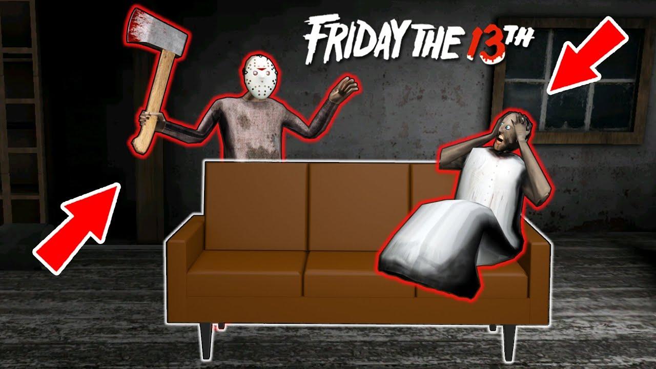 "Granny vs Incognito vs ""Friday the 13th"" - funny horror animation parody (p.38)"