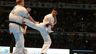 新極真会 The 11th World Karate Championship Men 5th round3 Kazufumi