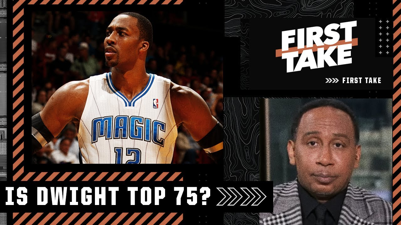 Download Is Dwight Howard a Top-75 player of all time? Stephen A. and Kendrick Perkins debate   First Take