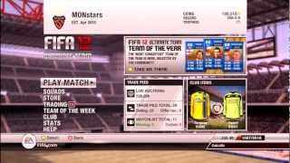 Fifa 12 Ultimate Team | Can't Buy Packs With MS Points Fix