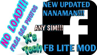 Gambar cover FB LITE MOD FREE SEE PHOTOS WITHOUT LOAD NEW UPDATED 2018 - 2019