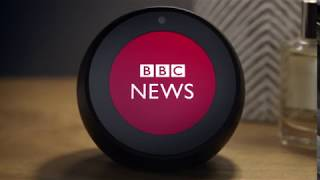 UK Amazon Echo Spot, Smart speaker and screen with Alexa / 2019 Great Bundles