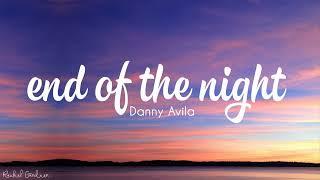 Download lagu Danny Avila End Of The Night
