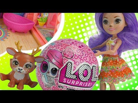 Волшебные сюрпирзы от Оли, куколки лол  Игрушкин ТВ