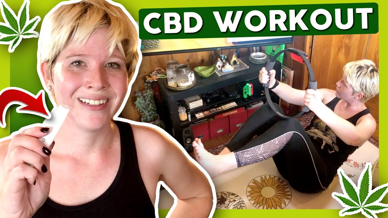 CBD WORKOUT AT HOME