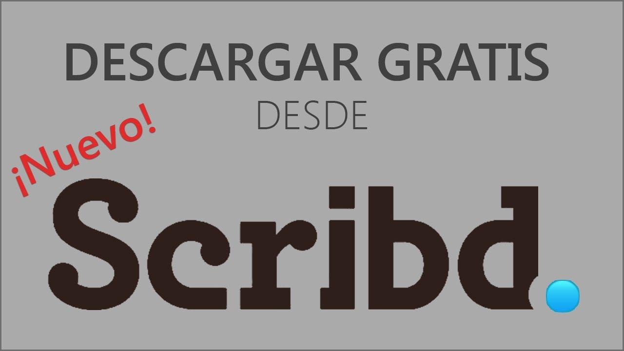 Cómo descargar documentos gratis de Scribd (MAR-2018 FUNCIONANDO ...