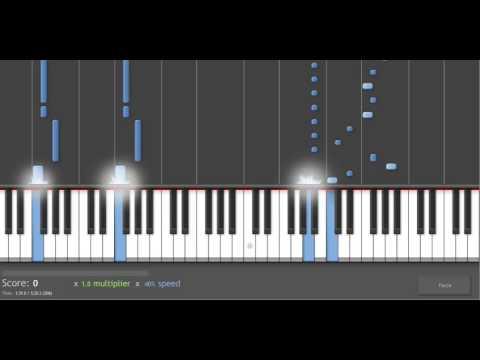 Piano Tutorial: Phantom of the Opera - Overture