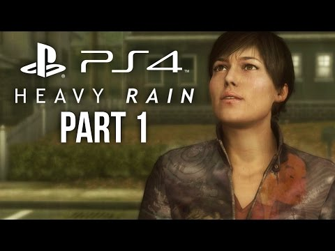 Heavy Rain PS4 Gameplay Walkthrough Part 1 - INTRO/PROLOGUE