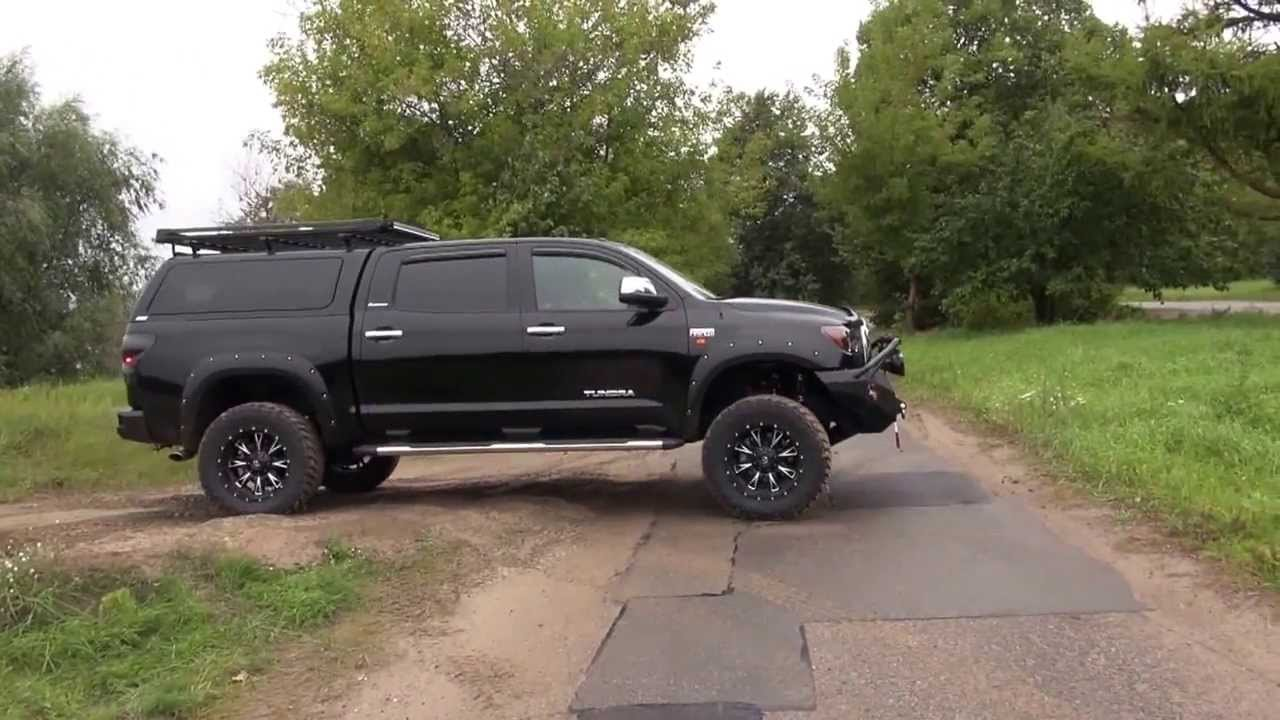 & Toyota Tundra 2013 tuning off-road - YouTube
