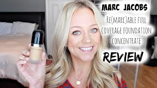 NEW Marc Jacobs Re(Marc)able Foundation Concentrate Review