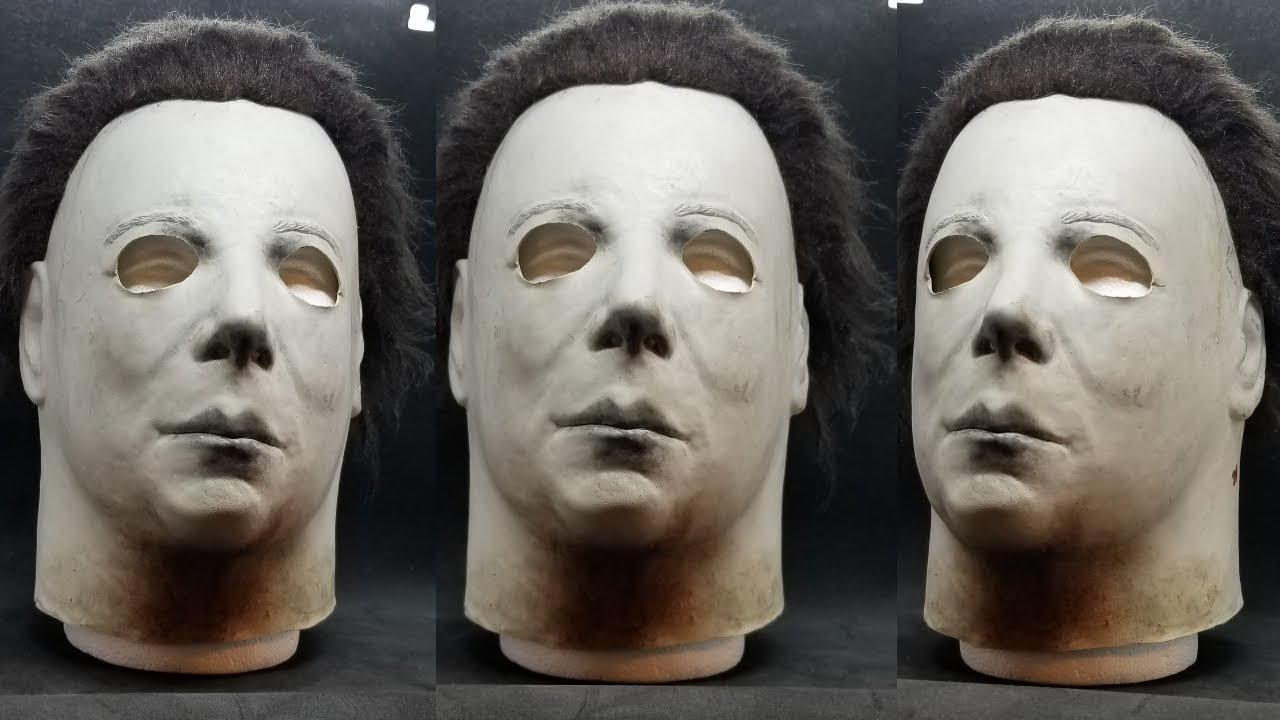 Michael Myers Mask Halloween 1.Tots Elrod Conversion Halloween 1 Michael Myers Mask Unboxing