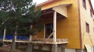 видео Терраса пристроенная к дому цена строительства, терраса к дому построить недорого под ключ в Московской области