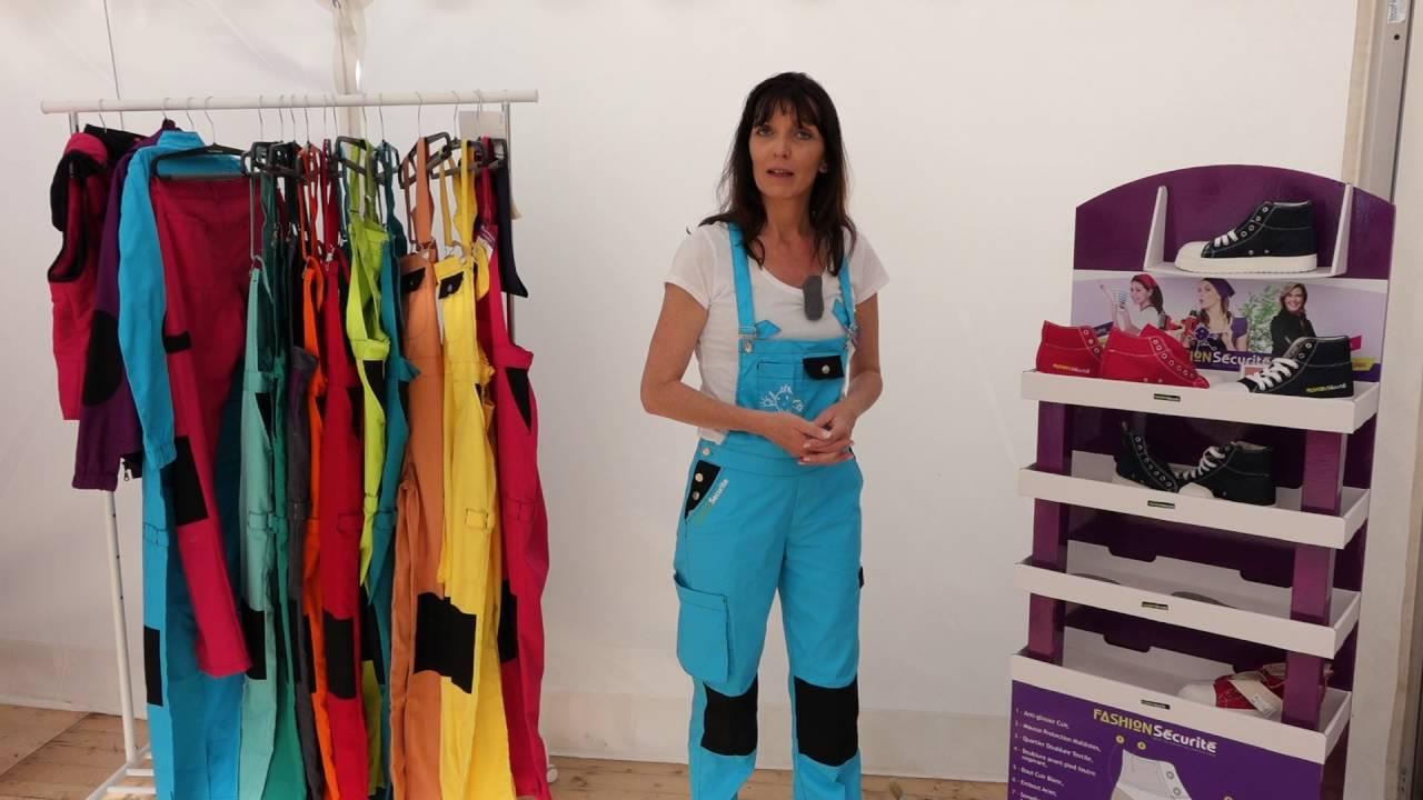 vente en magasin bonne qualité gamme complète de spécifications FAR GROUP EUROPE : Chaussures de sécurité Fashion Sécurité pour femmes et  hommes avec Céline LAPÔTRE