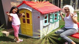 MASAL'IN SİHİRLİ EVİ - Masal and Grandma Pretend Play Magic Hause, Funny Kids video