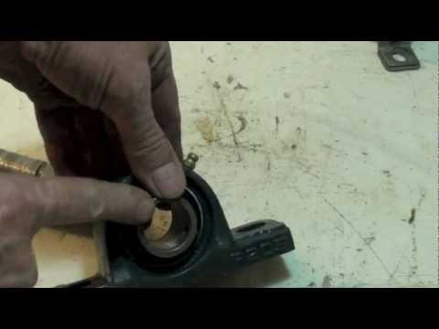 How to repair a blower shaft - YouTube