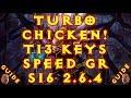 Diablo 3 S16 Turbo Chicken Witch Doctor Build! T13 & Bountys! 2.6.4