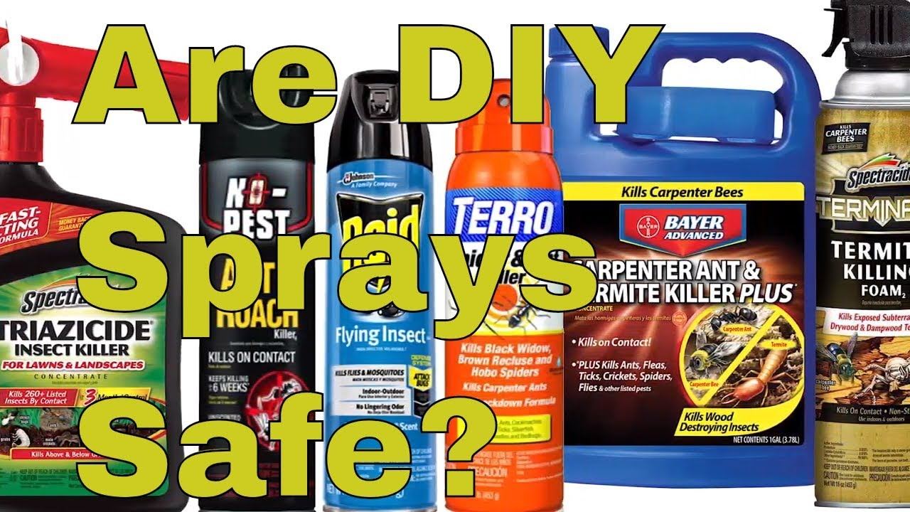 Diy Pest Control Supplies Are Diy Pest Control Sprays Safe