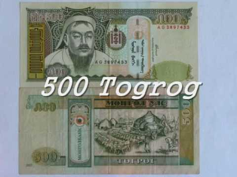 Mongolian banknotes