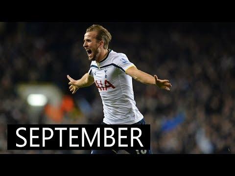 Harry Kane • All 13 Goals September • 2017/18