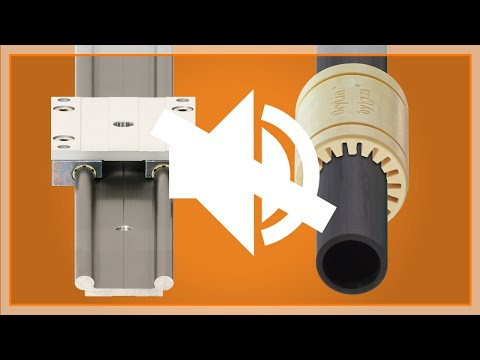 Linear bearing sound test: Plastic vs. Metal
