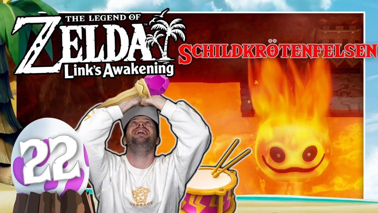 THE LEGEND OF ZELDA LINK'S AWAKENING 🗡️ #22: Gegen Hitzkopf im Schildkrötenfelsen thumbnail