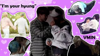 Cover images When Jimin becomes Taehyung's hyung!
