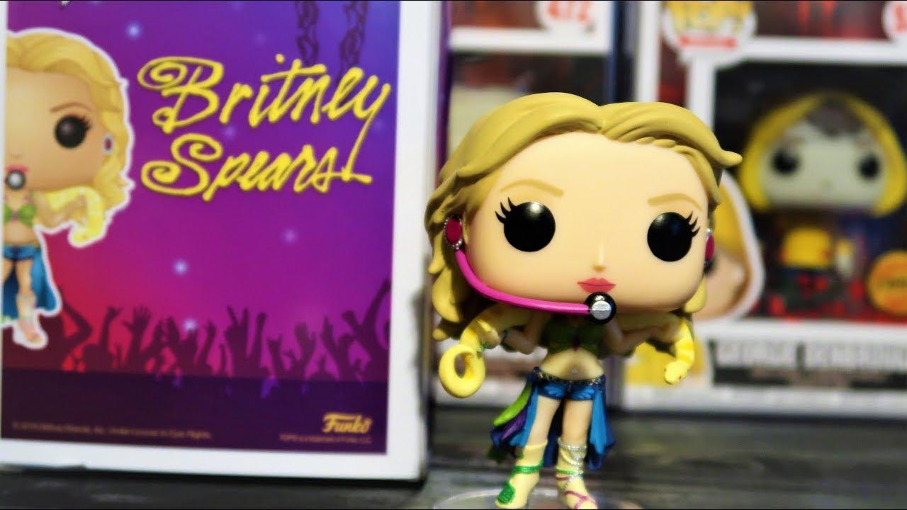 Rocks #98 Vinyl Figur Funko Britney Spears I Am A Slave For You POP