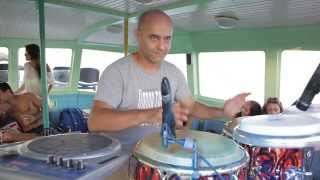 George Leary feat. Shany Ray (The Art of Percussion) Live @Rise Boat Party