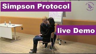 Simpson Protocol Demonstration beim Internationalen Hypnosekongress 2017