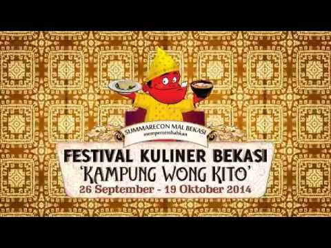 "Summarecon Mal Bekasi - Festival Kuliner Bekasi 2014 ""Kampung Wong Kito"""